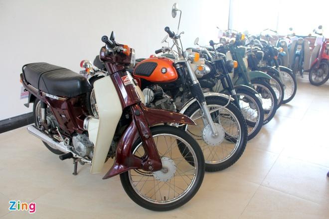 Khám phá bộ sưu tập hàng trăm chiếc xe máy cổ tại Sài Gòn - ảnh 11