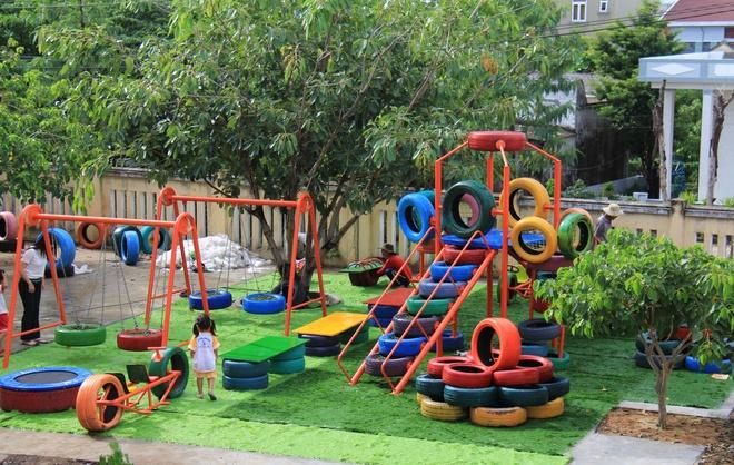 khánh thành khu vui chơi và nhà vệ sinh cho trẻ huyện đảo Lý Sơn - ảnh 3