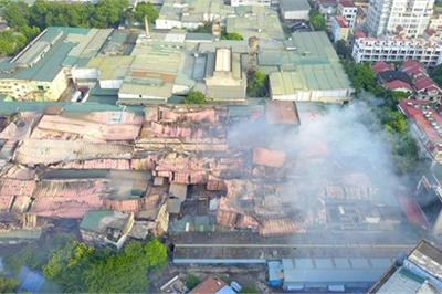 Vụ cháy Rạng Đông: Điểm danh các chung cư trong vùng ảnh hưởng của thủy ngân