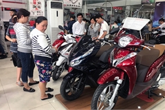 Thị trường dần bão hòa, lượng tiêu thụ xe máy năm 2019 sụt giảm