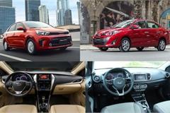 Mua xe chạy taxi: Chọn Kia Soluto AT hay Toyota Vios 1.5E CVT?