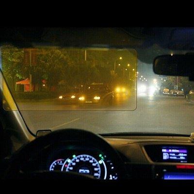 9 điều cần lưu ý để lái xe an toàn vào ban đêm - Hoặc tích hợp kính che chống chói