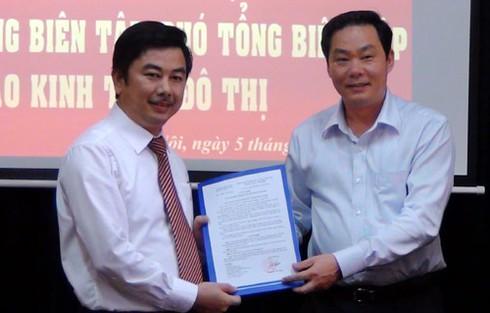 Ông Nguyễn Minh Đức được bổ nhiệm làm Tổng biên tập báo Kinh tế&Đô thị - ảnh 1
