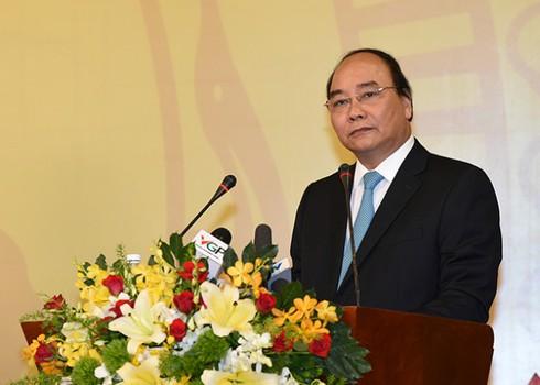 Thủ tướng: Bộ ngành phát biểu ngắn gọn để dành thời gian nghe ý kiến doanh nhân - ảnh 1