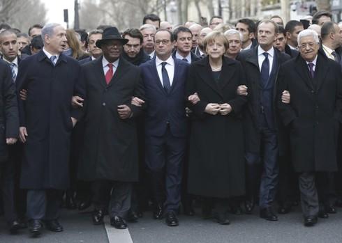 Sau Charlie Hebdo, các nguyên thủ có thực sự ủng hộ tự do ngôn luận? - ảnh 1