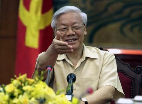 AP: Mỹ trải thảm đỏ, đón chờ Tổng Bí thư Nguyễn Phú Trọng - ảnh 1