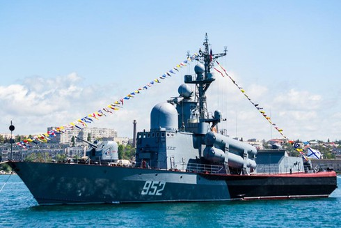 Điểm danh 9 chiến hạm chủ lực trong Hạm đội Biển Đen - ảnh 1