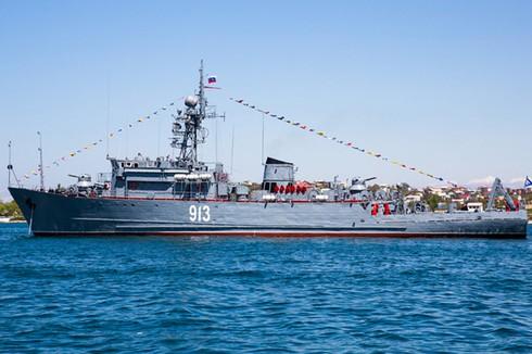 Điểm danh 9 chiến hạm chủ lực trong Hạm đội Biển Đen - ảnh 8