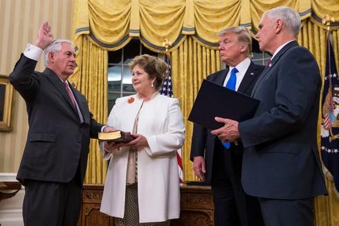 Phó Thủ tướng Phạm Bình Minh gửi điện mừng tân Ngoại trưởng Hoa Kỳ Rex Tillerson - ảnh 1