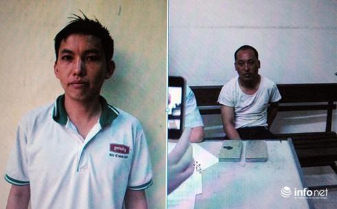 Hai người đàn ông mang gần 1kg ma túy xuống Hà Nội bán - ảnh 1