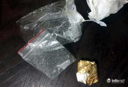 Học viên cảnh sát cùng công an bắt đối tượng có ma túy giao cảnh sát 141 - ảnh 2