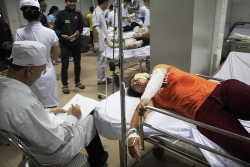 Nghệ An: Nổ kinh hoàng ở công ty gỗ, 12 công nhân nhập viện cấp cứu - ảnh 4