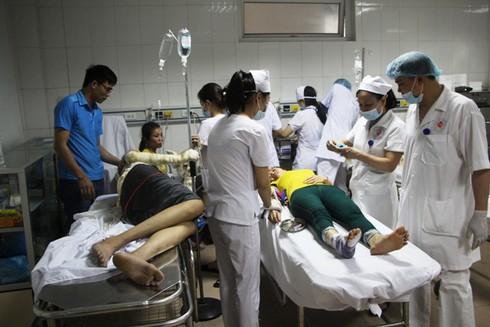 Nghệ An: Nổ kinh hoàng ở công ty gỗ, 12 công nhân nhập viện cấp cứu - ảnh 5