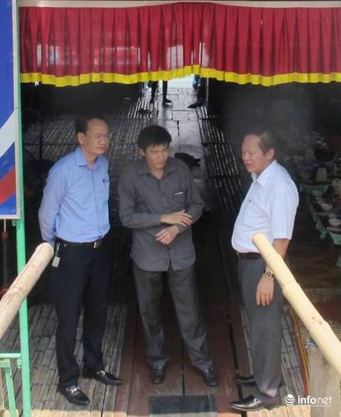 Bộ trưởng Trương Minh Tuấn thăm, động viên ngư dân Vũng Áng - ảnh 2