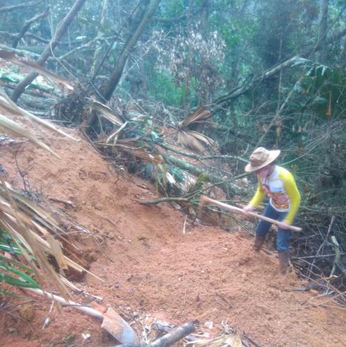 Thanh Hóa: Làm rõ vụ khai thác đá xanh trái phép - ảnh 4