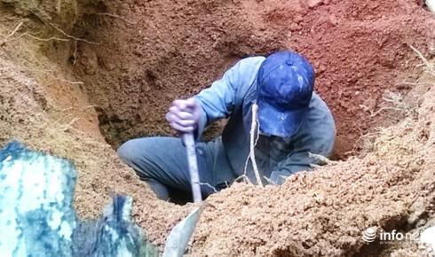 Thanh Hóa: Làm rõ vụ khai thác đá xanh trái phép - ảnh 3