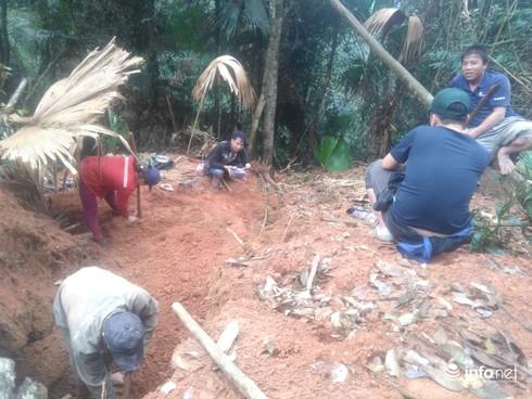 Thanh Hóa: Làm rõ vụ khai thác đá xanh trái phép - ảnh 2