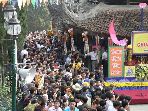 Lễ hội chùa Hương: Du khách hào hứng hành hương - ảnh 10
