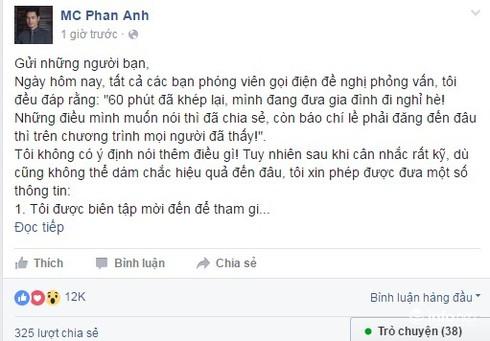 Thư ngỏ của MC Phan Anh và thông điệp hãy tôn trọng sự khác biệt - ảnh 2