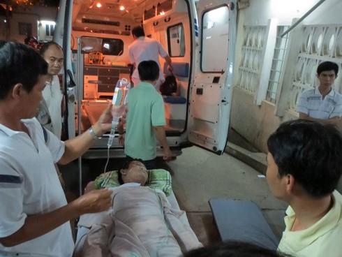 Rơi nồi đựng thép nấu tại Nhà máy thép Pomina 3, 11 người bị thương - ảnh 1