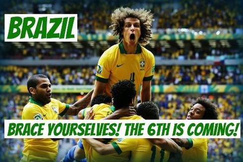 World Cup 2014 - Những khẩu hiệu thú vị - ảnh 1