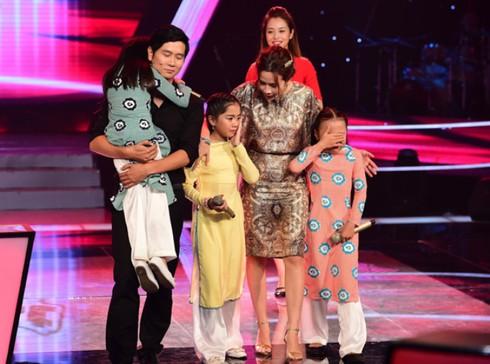 Giọng hát Việt nhí 2014, tập 2, vòng Đối đầu: Điểm 10 Thiện Nhân - ảnh 2