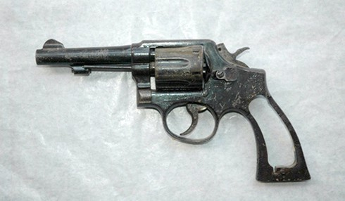 Khẩu súng Rulô của Đại đội 61 anh hùng - ảnh 1