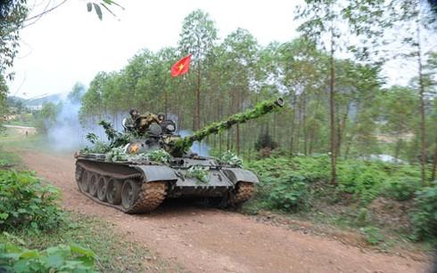 Tháng Tư ở Lữ đoàn Xe tăng B09 - ảnh 1