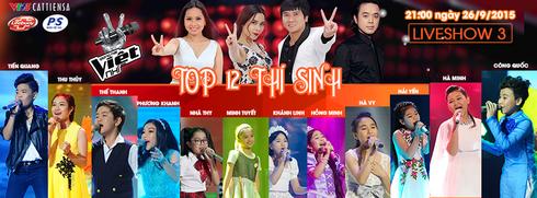 Xem Liveshow 3 Giọng hát Việt nhí 2015 ngày 26/9 online trên VTV3 - ảnh 1