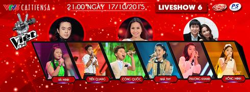 Xem bán kết 2 - liveshow 6 Giọng hát Việt nhí 2015 ngày 17/10 online trên VTV3 - ảnh 1