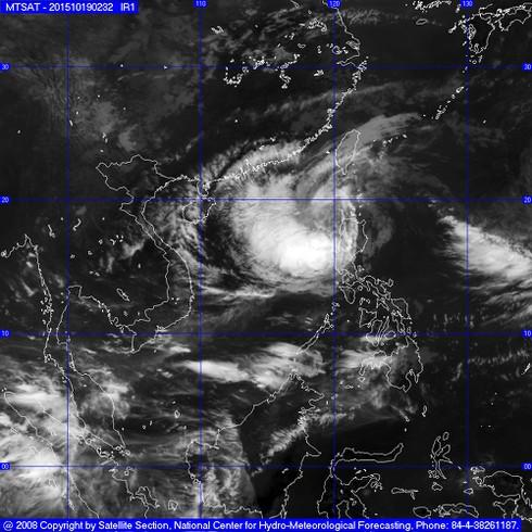 Tin bão Koppu mới nhất 19/10 và dự báo thời tiết Hà Nội 10 ngày tới - ảnh 1