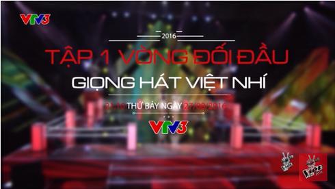 Xem Giọng hát việt nhí 2016 vòng Đối đầu tập 1 ngày 27/8 online trên VTV3 - ảnh 1