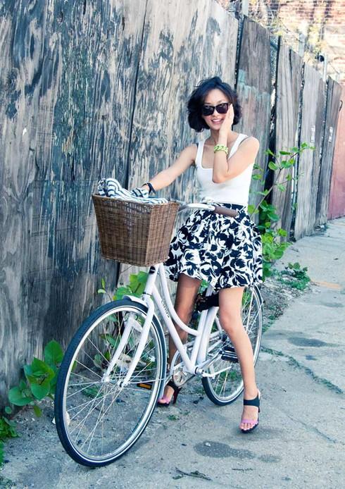 Đẹp mỹ miều với xe đạp sành điệu - ảnh 1