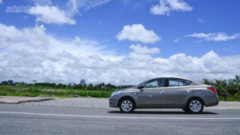 Đánh giá tổng thể Nissan Sunny AT và Honda City AT - ảnh 2