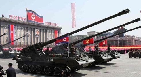 Khám phá pháo tự hành lớn nhất của quân đội Triều Tiên - ảnh 1