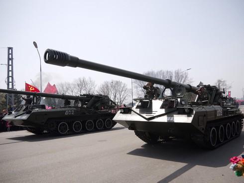 Khám phá pháo tự hành lớn nhất của quân đội Triều Tiên - ảnh 6