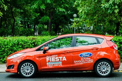 Đánh giá chi tiết Ford Fiesta 2014 - ảnh 14