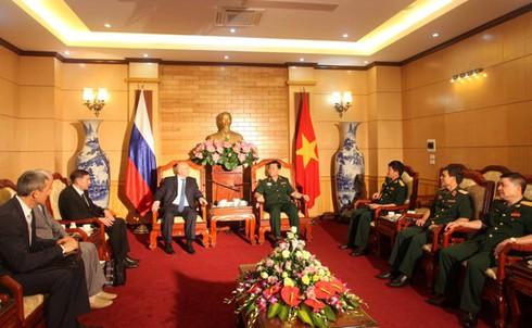 Tướng phản gián quân sự - cơ quan An ninh Liên bang Nga thăm Việt Nam - ảnh 2