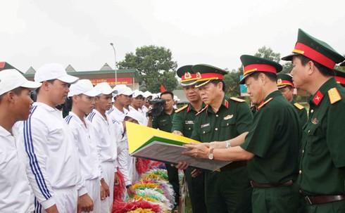 Lực lượng xếp hình, xếp chữ kỷ niệm Quốc khánh 2/9 đã sẵn sàng - ảnh 3