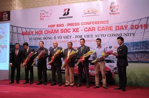 Sẽ có 800 ô tô được chăm sóc tại Car Care Day 2015 sắp tới - ảnh 1