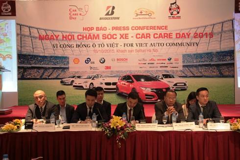 Sẽ có 800 ô tô được chăm sóc tại Car Care Day 2015 sắp tới - ảnh 2