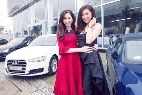 Điểm mặt nhan sắc các đại sứ Audi Việt Nam - ảnh 2