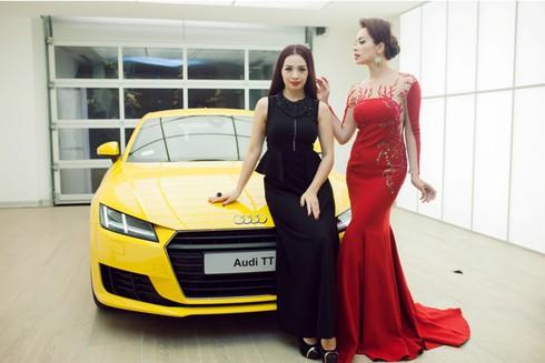 Điểm mặt nhan sắc các đại sứ Audi Việt Nam - ảnh 8