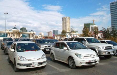 Ngắm xe hơi trên đường phố Mông Cổ - ảnh 1