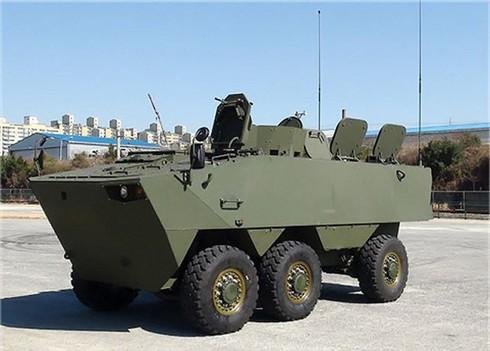 Sức mạnh 600 xe bọc thép K808, 806 thế hệ mới của quân đội Hàn Quốc - ảnh 10