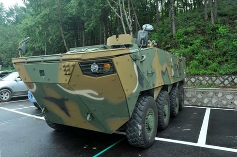 Sức mạnh 600 xe bọc thép K808, 806 thế hệ mới của quân đội Hàn Quốc - ảnh 5