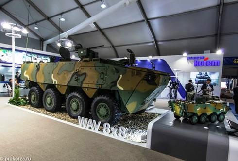 Sức mạnh 600 xe bọc thép K808, 806 thế hệ mới của quân đội Hàn Quốc - ảnh 6