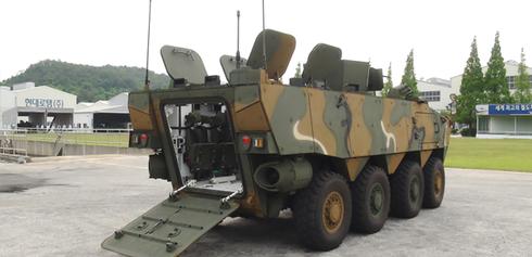 Sức mạnh 600 xe bọc thép K808, 806 thế hệ mới của quân đội Hàn Quốc - ảnh 9