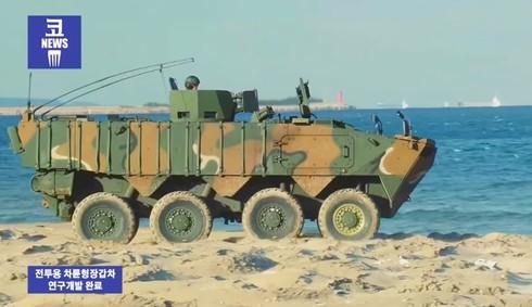 Sức mạnh 600 xe bọc thép K808, 806 thế hệ mới của quân đội Hàn Quốc - ảnh 1
