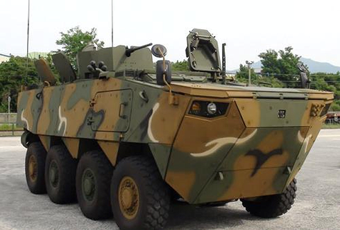 Sức mạnh 600 xe bọc thép K808, 806 thế hệ mới của quân đội Hàn Quốc - ảnh 4